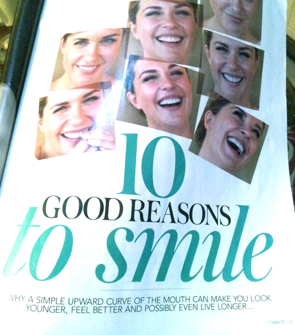 10 Good Reasons to SMILE : o )
