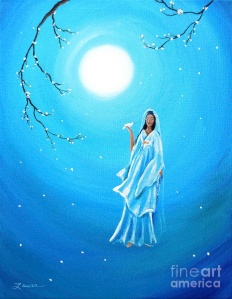 quan-yin-in-teal-moonlight-laura-iverson