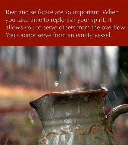 Rest and Self-care x