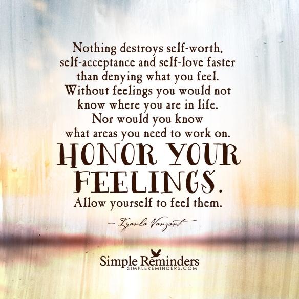 listen to your feelings x
